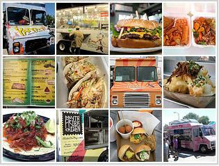 Food Truck Mosaic