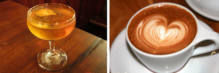 La Primavera from 1886 vs. Capuccino from Intelligentsia