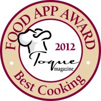 Best Cooking App 2012