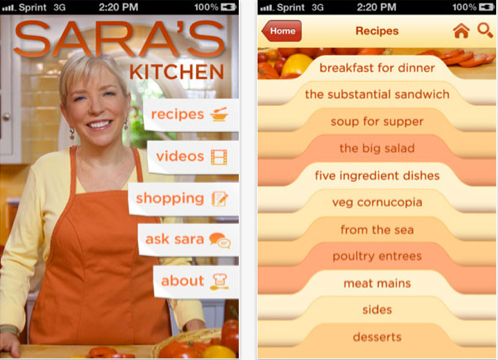 2012 Food App Awards Winners